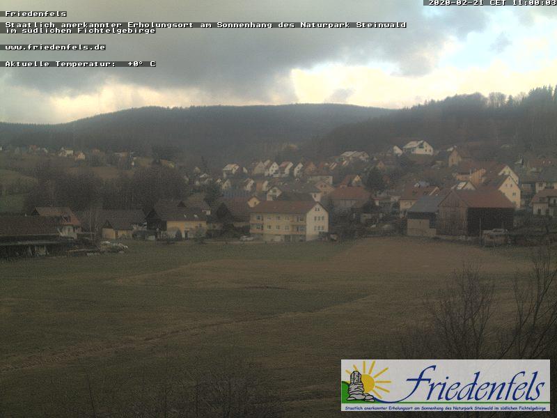 Webcam Friedenfels - Webcam Friedenfels in der ErlebnisRegion Fichtelgebirge